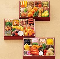 和洋中三段重「吉春」冷蔵2~3人前本体 10,000円(税込 10,800円)