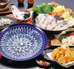 ふく料理にぎわいフルコース(4人前)冷凍 本体 18,000円(税込19,440円)