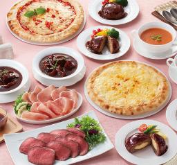 伊藤ハムローストビーフとピザの洋食セット冷凍2~3人前本体6,000円(税込6,480円)