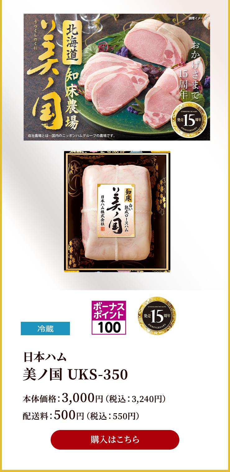 発売15周年記念商品 美ノ国 UKS-350