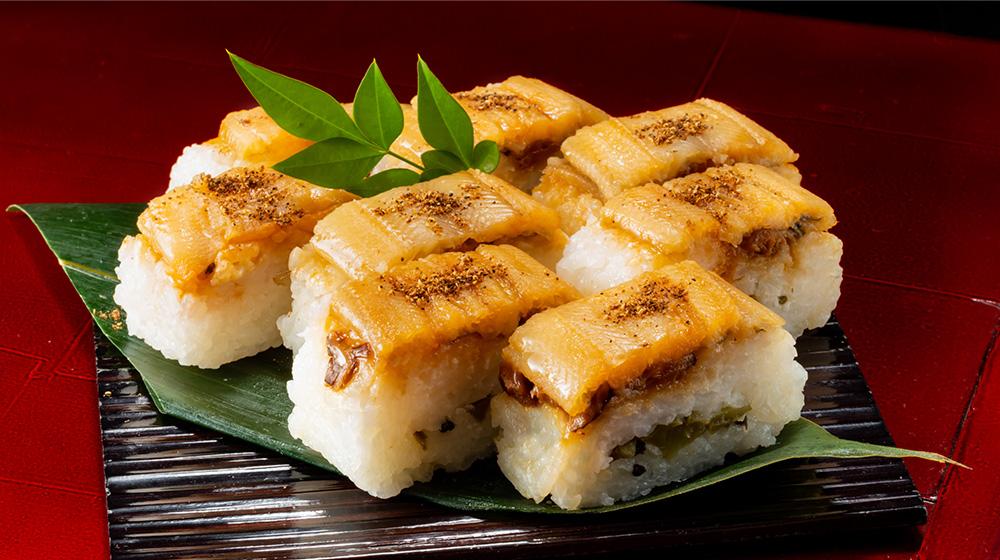 ゆず香る焼鯖の押寿司のお届け内容