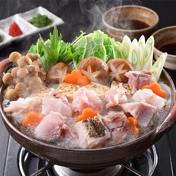 長崎県産 天然クエ鍋セット(4人前) 【年末ごちそう】 商品画像1