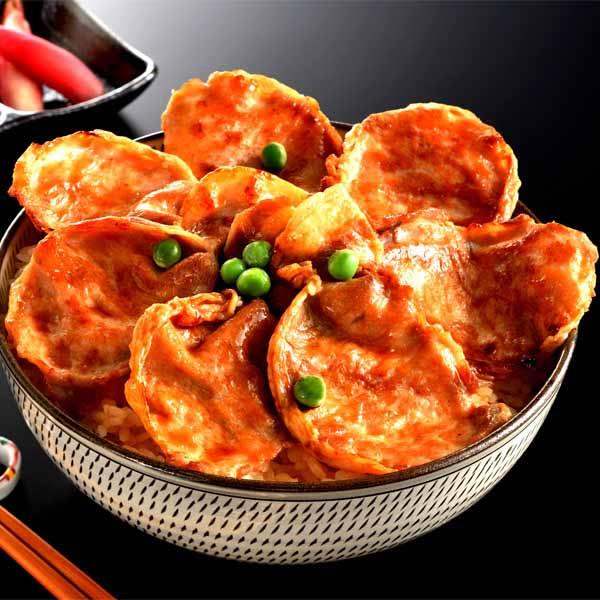 九州産 黒豚ロース豚蒲焼丼の具12食セット 120g×12[N201]【お届け期間:11/29〜3/10】【おいしいお取り寄せ】 商品画像1