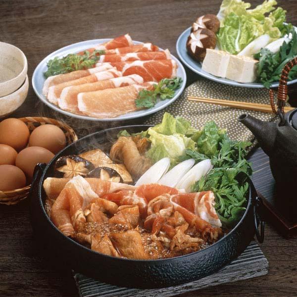 南州農場 黒豚ロース・かたロース豚すきセット【おいしいお取り寄せ】 商品画像1