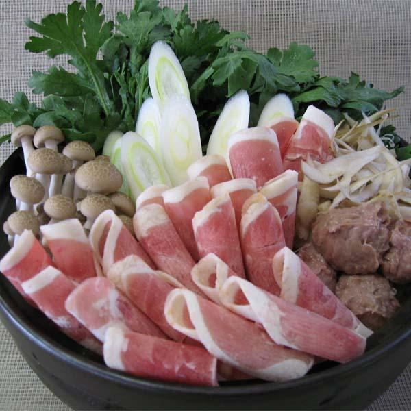 青森県新郷村産 「銀の鴨」鴨鍋セット 400g 【おいしいお取り寄せ】 商品画像1