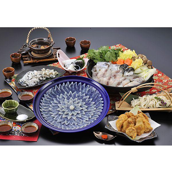 国産 ふく料理にぎわいフルコース(4人前) 【年末ごちそう】 商品画像1