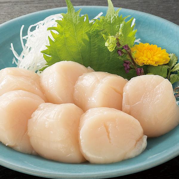 北海道産お刺身ほたて貝柱 500グラム×1袋 (L5644) 【サクワ】 商品画像1