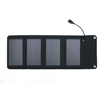 スマホ ソーラー充電器7W型 [AJ-SOLAR7W BK] (R3875) 商品画像1