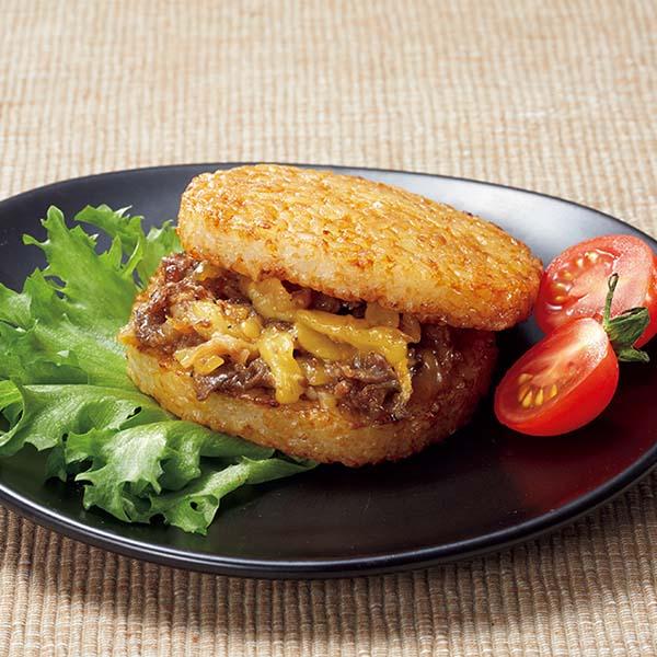 【叙々苑】 焼肉ライスバーガー(チーズ入)×6個 (L5901) 【サクワ】 商品画像1