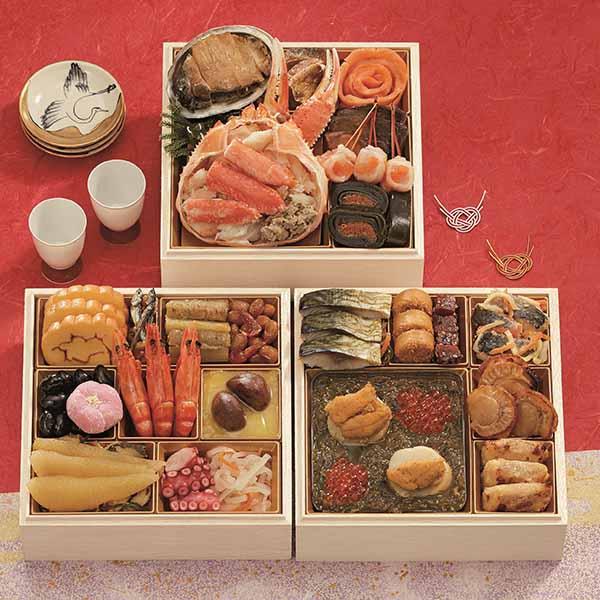 三陸海宝漬 中村家「黄金の海」【約3人前・30品目】【イオンのおせち】 商品画像1