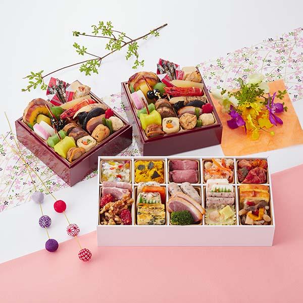 京都しょうざん和の個食おせち料理&オードブル【2人前・46品目】【イオンのおせち】 商品画像1
