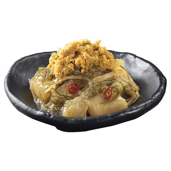 北海道礼文島産 うにを使った松前漬 200グラム×2パック (L5911) 【サクワ】 【直送】 商品画像1