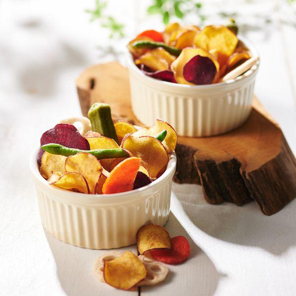 豆徳 野菜チップス缶【年間ギフト】[MYC-C4M] 商品画像1