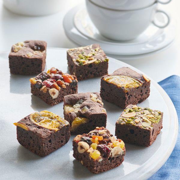ホシフルーツ ナッツとドライフルーツの贅沢ブラウニー 16個【年間ギフト】[HFB-004] 商品画像1