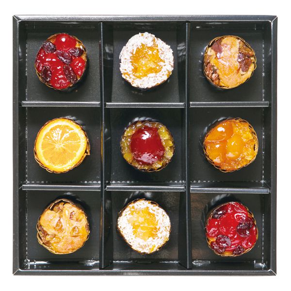 ホシフルーツ フレンチカップケーキ 9個【年間ギフト】[HFSC-9] 商品画像1