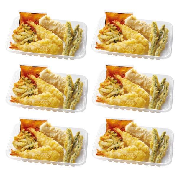 天ぷら4種盛り合わせ(海老天・いか天・野菜かき揚げ・いんげん天)6パック (L5678) 【サクワ】 商品画像2