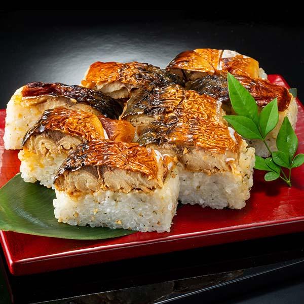【なだ万】棒寿司セット(なだ万ゆず香る焼き鯖の押寿司・なだ万煮穴子の押寿司) (L5757) 【サクワ】 商品画像2