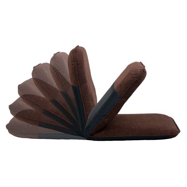 コンパクト収納座椅子 ブラウン (R1026) 商品画像2