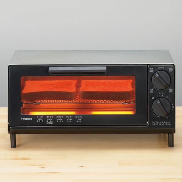 ミラーガラス オーブントースター (R1741) 商品画像2