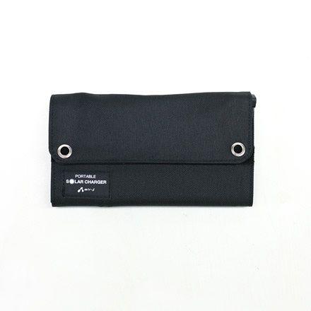 スマホ ソーラー充電器7W型 [AJ-SOLAR7W BK] (R3875) 商品画像2