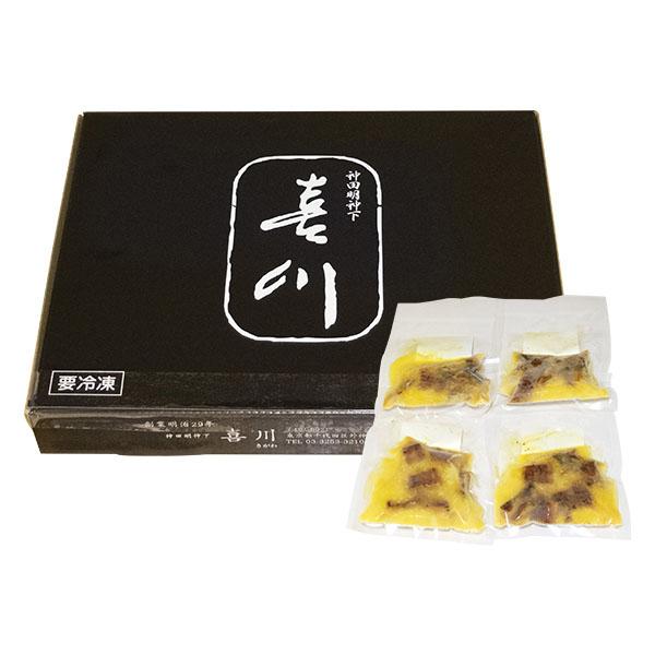 【神田明神下喜川】 国産鰻玉子丼の具 100グラム×4袋 (L5876) 【サクワ】【直送】 商品画像2