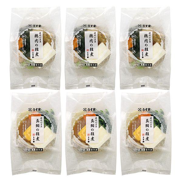 【うす家】真鯛と鶏肉のお雑煮詰合せ(L5955)【サクワ】【直送】 商品画像2
