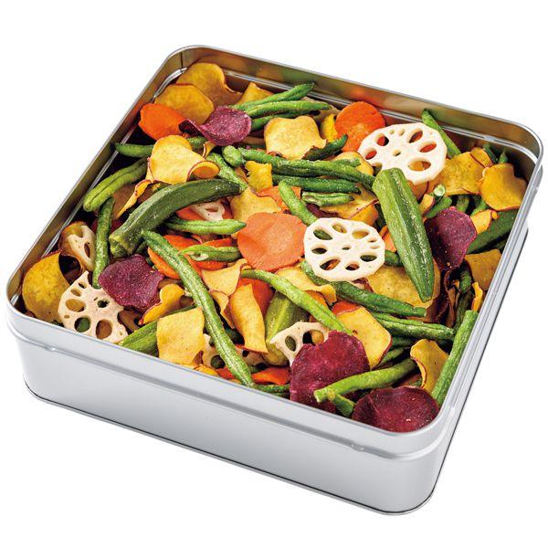 豆徳 野菜チップス缶【年間ギフト】[MYC-C4M] 商品画像2