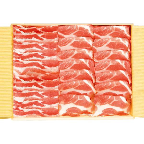霧島黒豚しゃぶしゃぶ(肩ロース・豚バラ)セット (L3791) 【サクワ】【直送】 商品画像3
