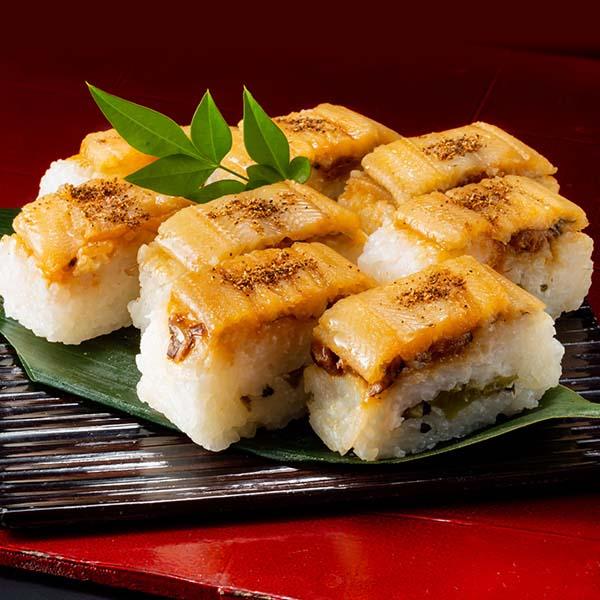 【なだ万】棒寿司セット(なだ万ゆず香る焼き鯖の押寿司・なだ万煮穴子の押寿司) (L5757) 【サクワ】 商品画像3