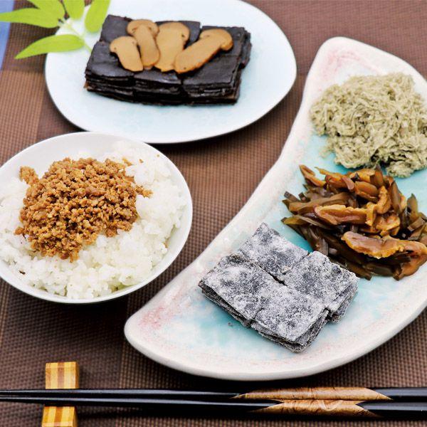 廣川昆布 万味豊秀 8品佃煮木箱詰【年間ギフト】[V1219-03] 商品画像3