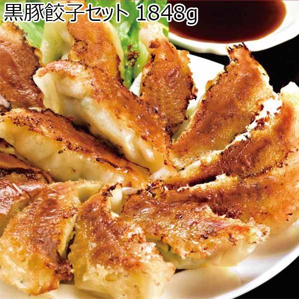 鹿児島県産 黒豚餃子セット 1848g【おいしいお取り寄せ】 商品画像1