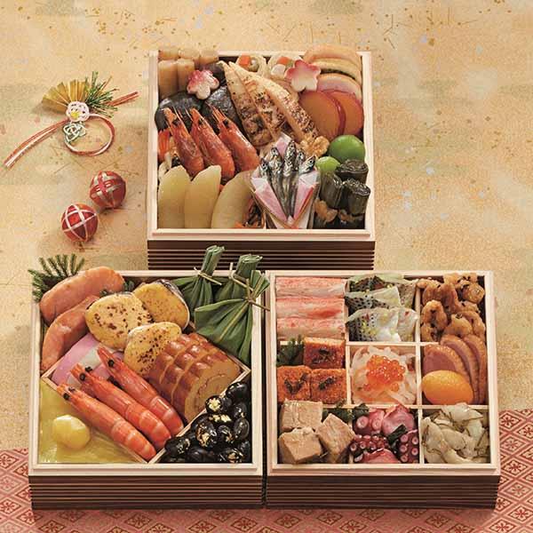 博多 日本料理 てら岡 「天豊」【約2〜3人前・36品目】【イオンのおせち】 商品画像1