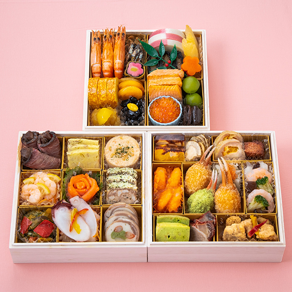 美食良菜糖質配慮おせち和洋中三段重【3人前・39品目】【イオンのおせち】 商品画像1