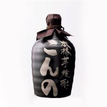 西吉田酒造 こんの芋焼酎25度陶器 【贈りもの】 商品画像1