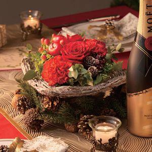 hanna フラワークリスマスパーティー【お届け期間:12/20〜12/22】【イオンのクリスマス】