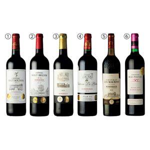 ボルドー産赤ワイン6本セット 【冬ギフト・お歳暮】