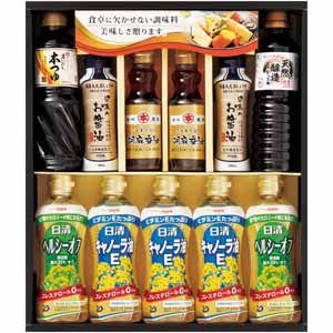 日清キャノーラ油&和調味料ギフト 【冬ギフト・お歳暮】 [YDC-50B]