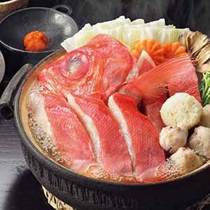 徳島 吟月 高知県産金目鯛まるごと鍋セット 【冬ギフト・お歳暮】