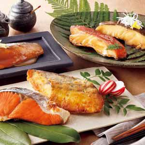 北海道 小樽フーズ 湯煎で簡単 焼魚・煮魚詰合せ 【冬ギフト・お歳暮】