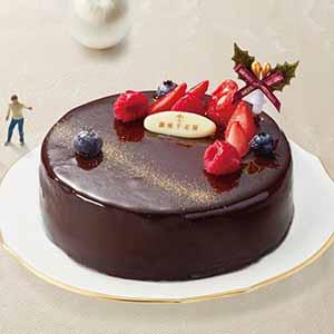 銀座千疋屋 ベリーのチョコレートケーキ【イオンのクリスマス】
