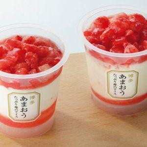 博多あまおう たっぷり苺のアイス 【冬ギフト・お歳暮】 [A-TPA]