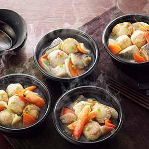 小樽海洋水産 北海道小樽の小鍋 4個セット 【冬ギフト・お歳暮】