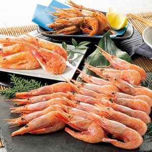 蝦名漁業部 漁師が選んだ羽幌の甘えび三昧 【冬ギフト・お歳暮】