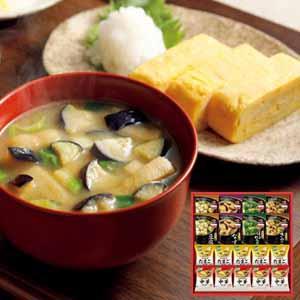 味の素ギフト 「具たっぷり味噌汁」&「クノール」スープギフト 【冬ギフト・お歳暮】 [FDM-30R]