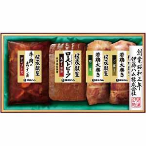 伊藤ハム 伝承献呈ローストビーフと3種の惣菜セット 【冬ギフト・お歳暮】 [GMT-38]