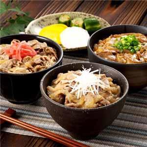 黒豚丼の具(和風、蒲焼風)、和牛丼の具(和風)3種食べ比べセット [N503]【おいしいお取り寄せ】