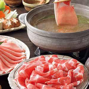霧島黒豚しゃぶしゃぶ4種食べくらべセット 【冬ギフト・お歳暮】
