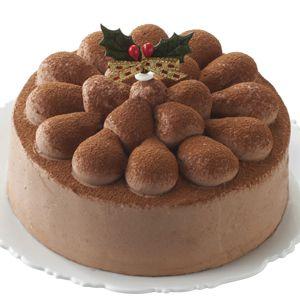 タカキベーカリー 卵と乳と小麦不使用のクリスマスチョコレートケーキ【イオンのクリスマス】