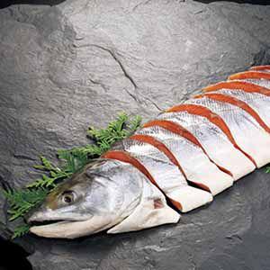 北海道 東和食品 ふっくら熟成新巻鮭 【冬ギフト・お歳暮】