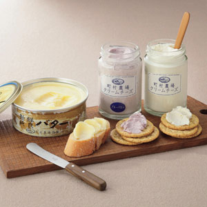 町村農場 バター・クリームチーズセット 【お届け期間:7/11〜10/13】 【北海道フェア】